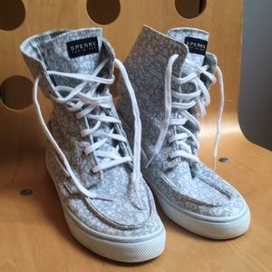 Sperry Topsider High Tops